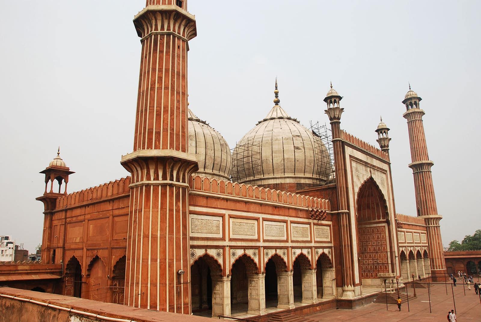 La mosquée Jama Masjid