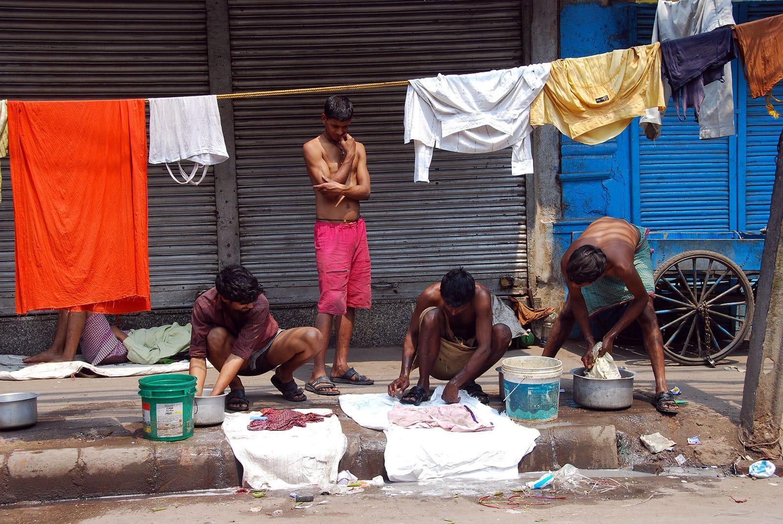 Les rues de Old Delhi.