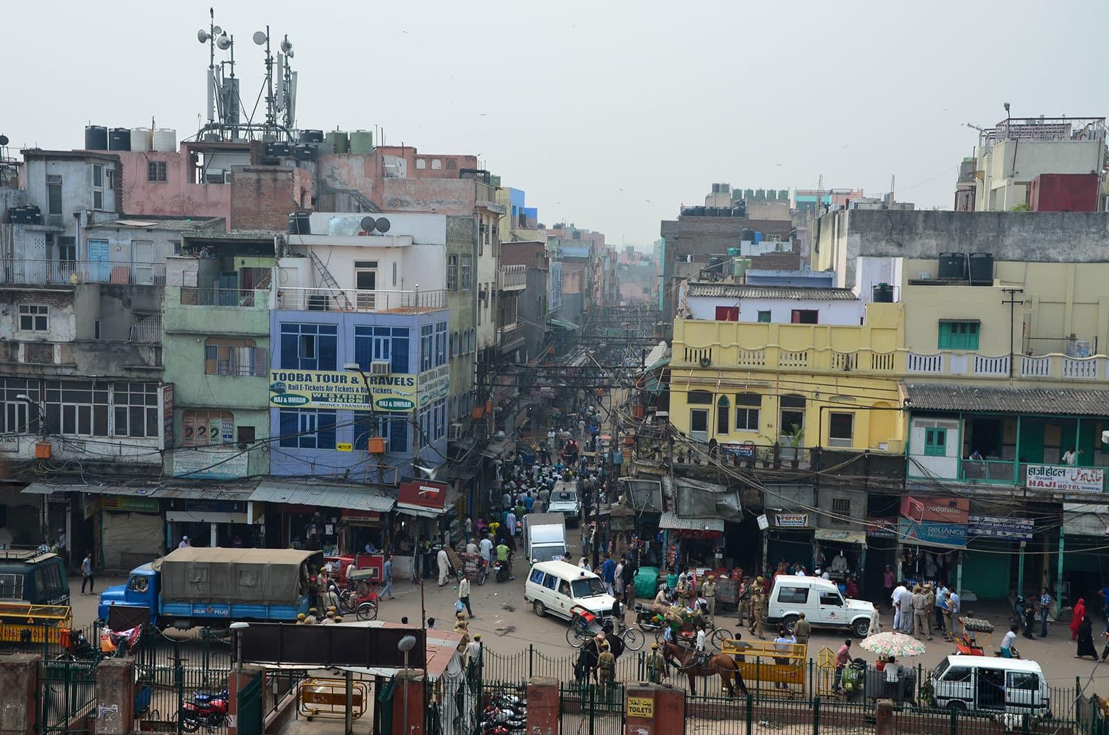 Les rues de Delhi