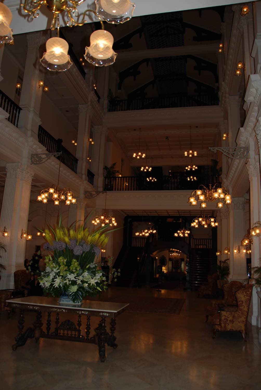 Le Hall d'entrée du Raffles