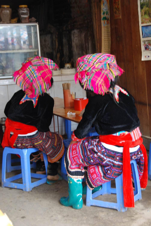 Sur le marché de Binh Lu