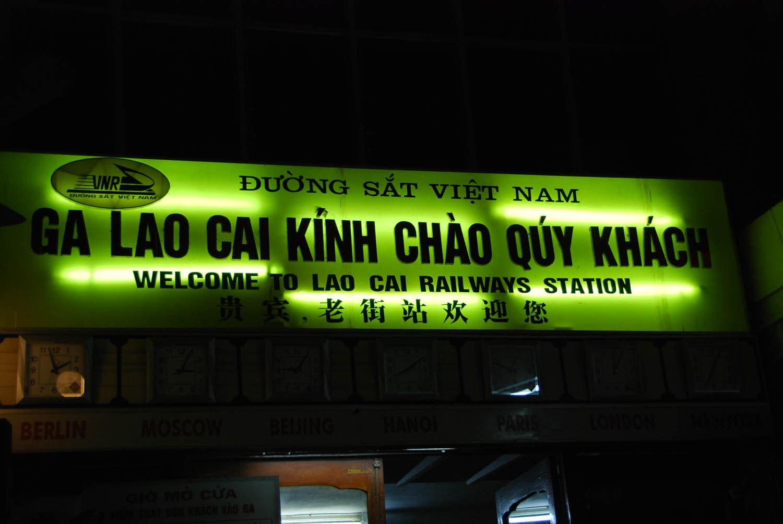 La gare de Lao Caï