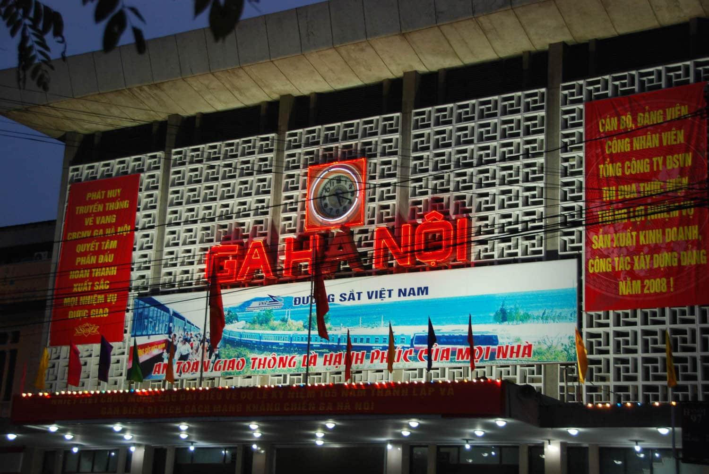 La gare de Hanoï