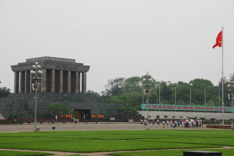 Le mausolée d'Ho Chi Minh