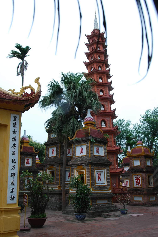 La pagode Tran Quoc