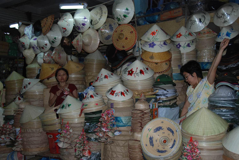 Les chapeaux coniques emblématiques du Vietnam