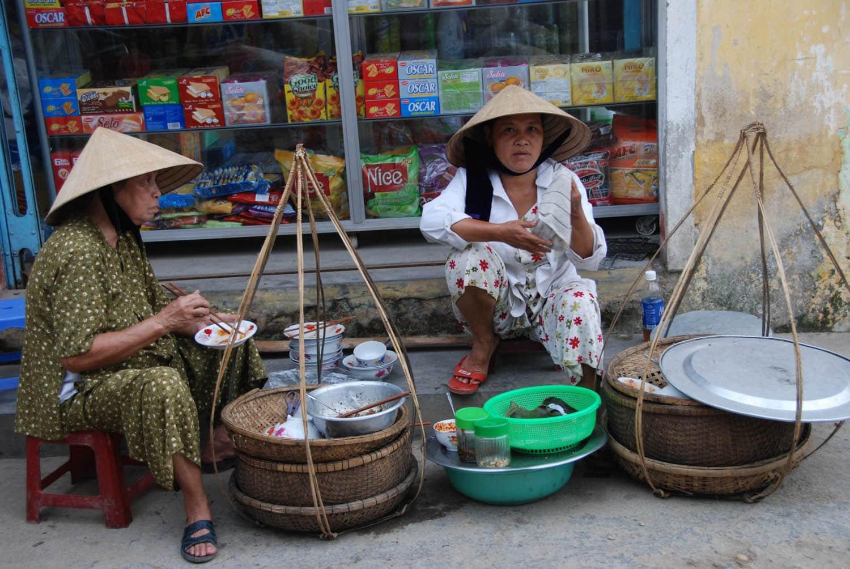 Les chapeaux coniques sont énormément portés au Vietnam !