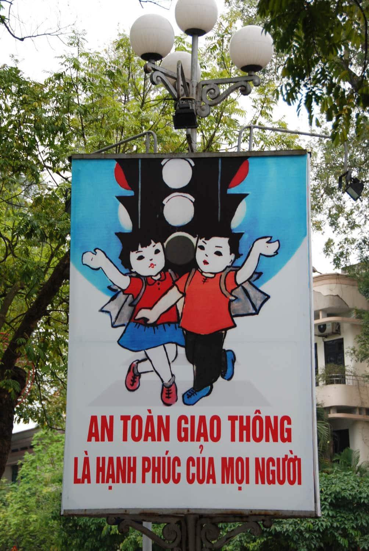 La sécurité routière à Hanoï