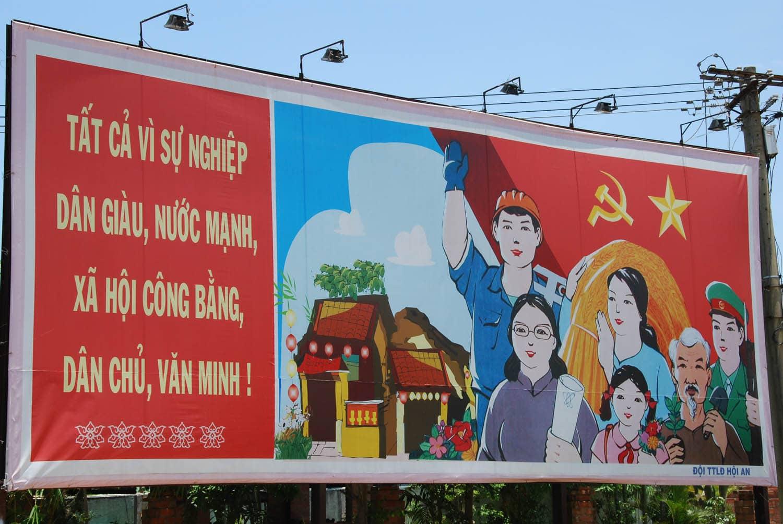 """""""Les habitants de Hôi An se rassemblent pour décider de la politique de la région."""""""