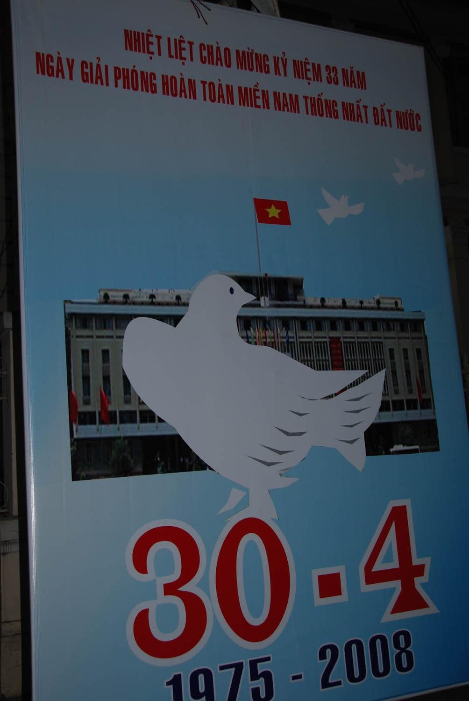 L'anniversaire de la victoire de la guerre contre les Américains le 30 avril 2008