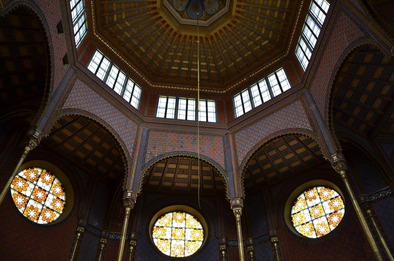 La coupole de la synagogue Rumbach