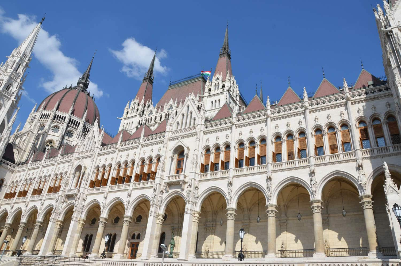 Le Parlement au bord du Danube