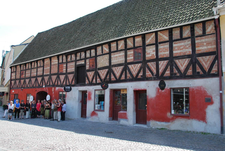 Les maisons à colombages du quartier historique de Malmö