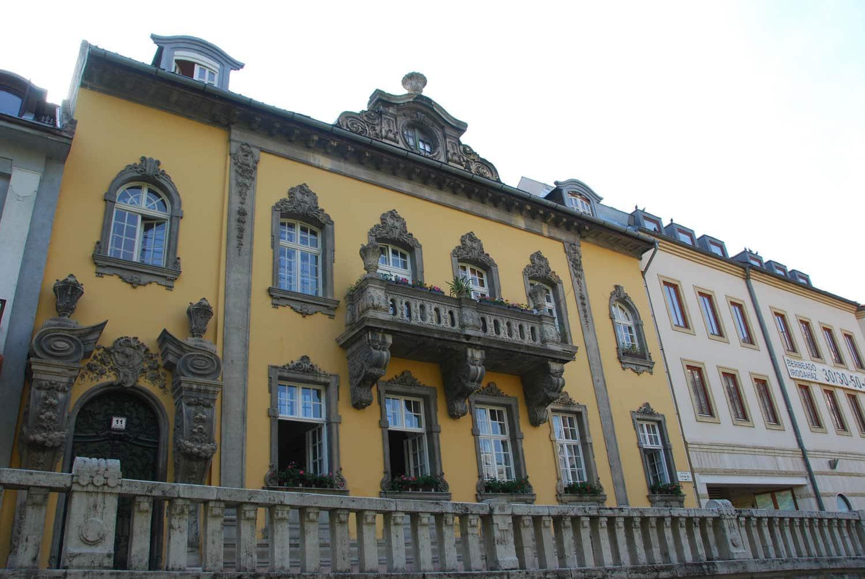 Très belles façades baroques