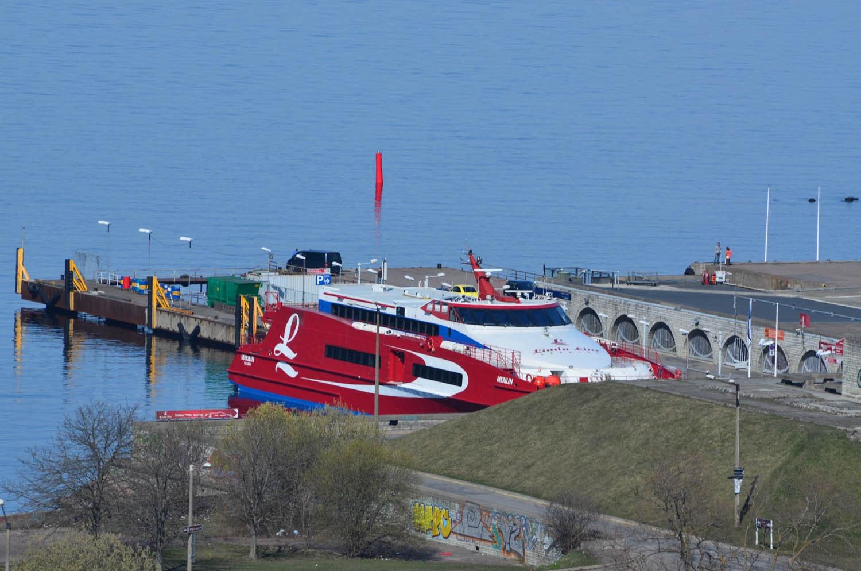 Le ferry à Tallinn