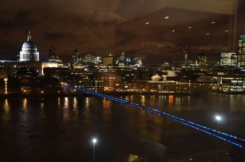 Vue d'en haut de la Tate Modern