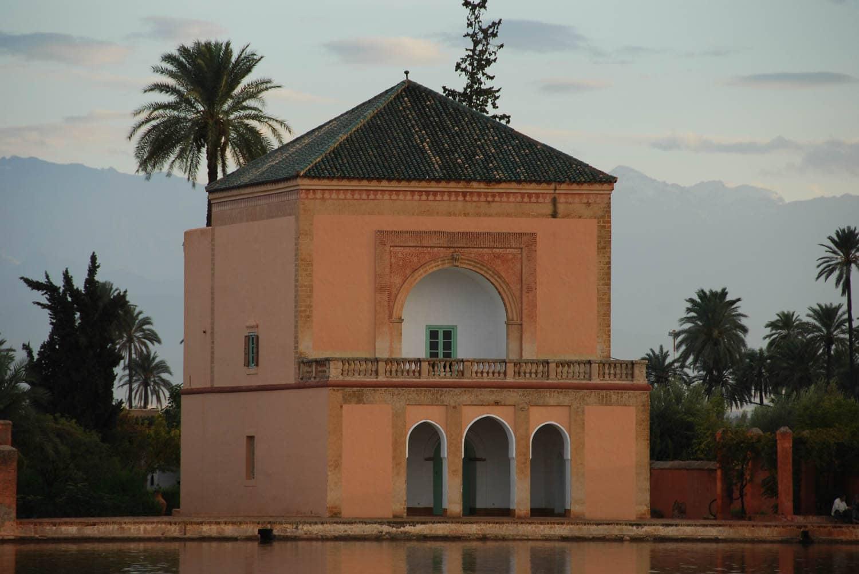 La Ménara : le pavillon sur l'eau