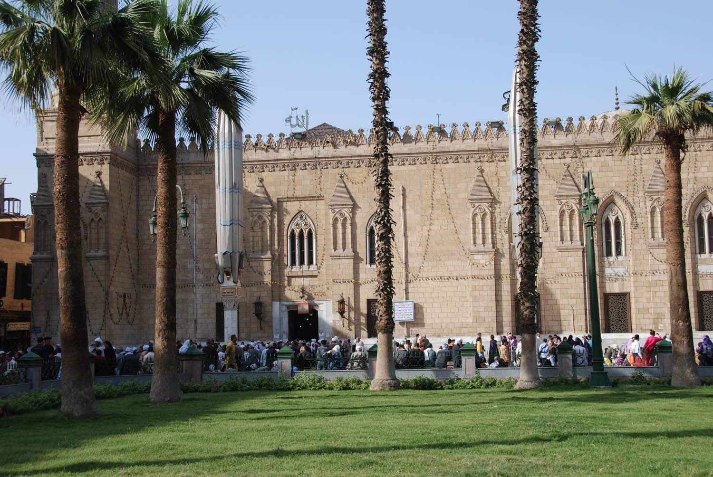 Rassemblement au Caire