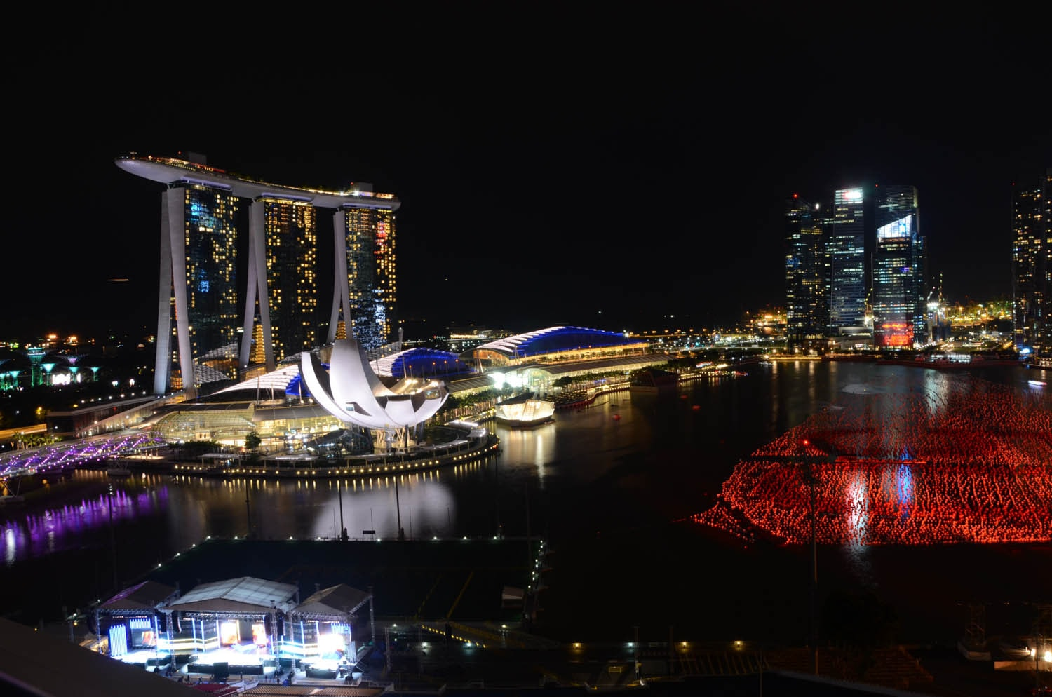 Marina Bay Sands by night