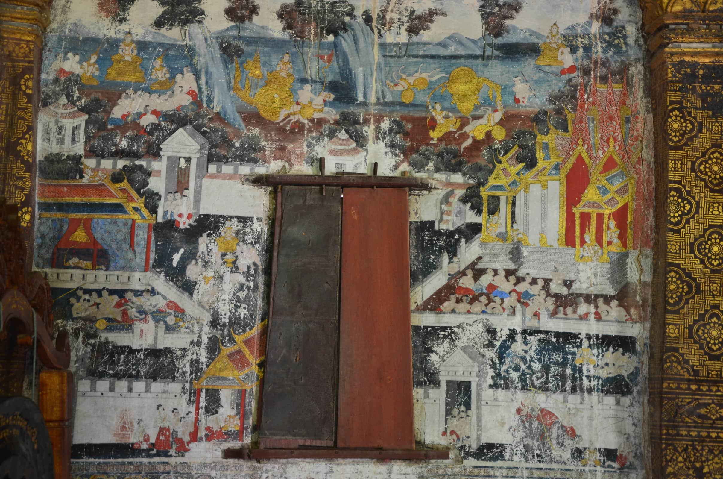 Laos 2018 : Wat Long Khoun