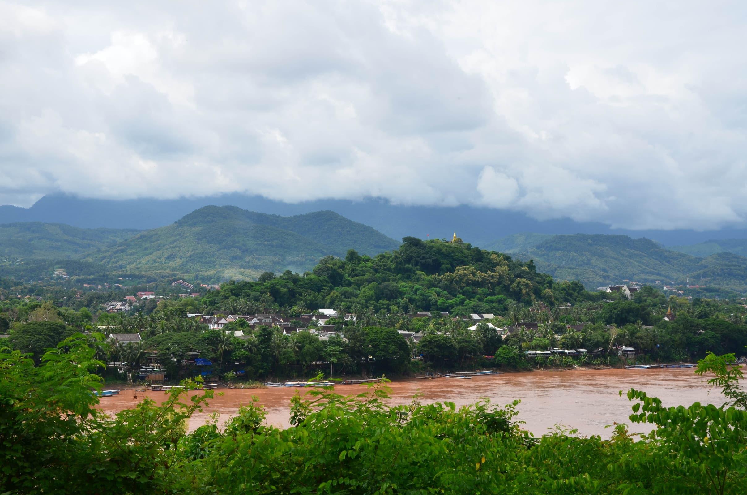 Laos 2018 : vue sur Luang Prabang